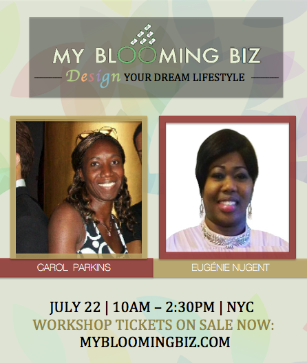 Design Your Dream Lifestyle NYC event by Eugenie Nugent and Carol Parkins