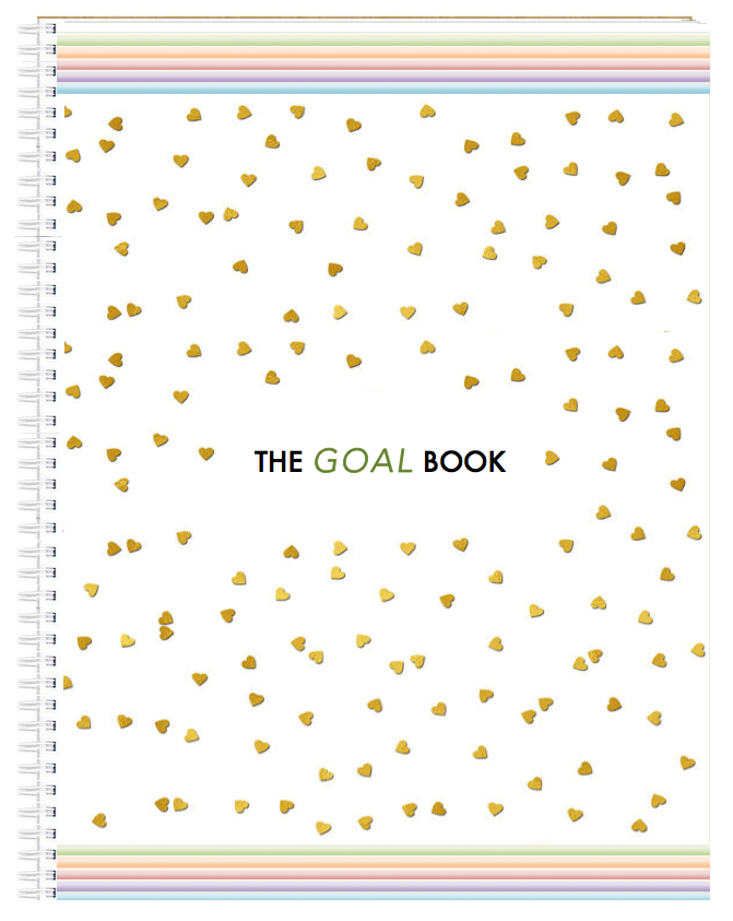 The Goal Book by Eugénie Nugent of My Blooming Biz
